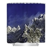 The Alps Shower Curtain