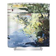 The Alster In High Summer Shower Curtain