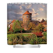 The Alte Burg Shower Curtain