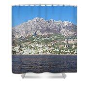 The Amalfi Coast - Panorama Shower Curtain