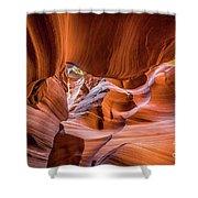 The Amazing Antelope Slot Canyons In Arizona, Usa Shower Curtain