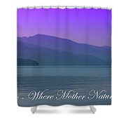 The Amazing Priest Lake Shower Curtain