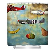 The Amazing Race 6 Shower Curtain by Leah Saulnier The Painting Maniac