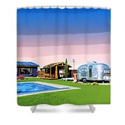 The American Dreamstate 1 Shower Curtain