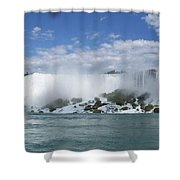 The American Falls At Niagra Shower Curtain