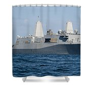 The Amphibious Transport Dock Ship Uss Shower Curtain
