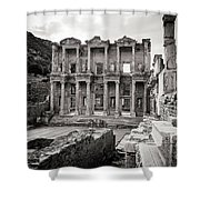 The Ancient Library Shower Curtain