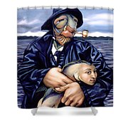 The Ancient Mariner Shower Curtain