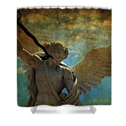 The Angel Of The Last Days Shower Curtain