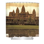 The Angkor Wat Temples In Siem Reap Shower Curtain