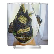 The Animal Cell - View Three Shower Curtain
