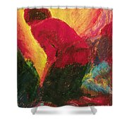 The Annunciation - Bganc Shower Curtain
