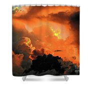 The Answer Is Out There Shower Curtain