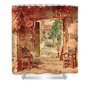 The Antiquarian's Shop Shower Curtain