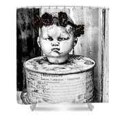 The Antique Doll's Head Shower Curtain