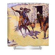 The Apaches Shower Curtain