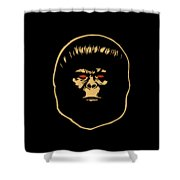 The Ape Shower Curtain