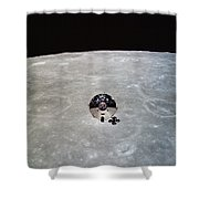 The Apollo 10 Command And Service Shower Curtain