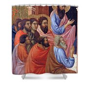 The Apostles Of Maria Fragment 1311 Shower Curtain