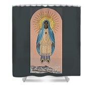 The Apparition Of St Kateri Tekakwitha 192 Shower Curtain