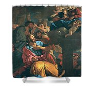 The Apparition Of The Virgin The St James The Great Shower Curtain