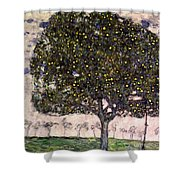The Apple Tree II Shower Curtain