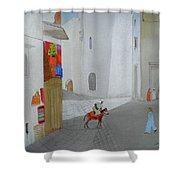 The Arabian Market Shower Curtain