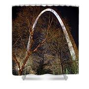 The Arch 3 St Louis Missouri Gateway Arch Art Shower Curtain