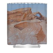 The Arch Rock Experiment - Vi Shower Curtain