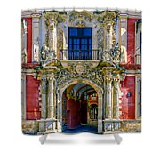 The Archbishop's Palace Of Seville Shower Curtain