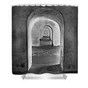 The Arches 2 Shower Curtain
