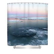 The Arctic Circle.. Shower Curtain