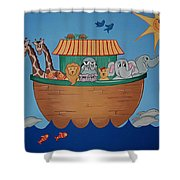 The Ark Shower Curtain