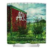 The Ark Wa. Shower Curtain