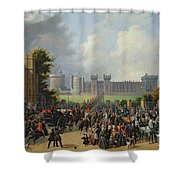 The Arrival Of Louis-philippe Shower Curtain