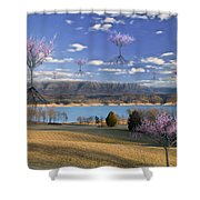 The Arrival Of Spring Shower Curtain