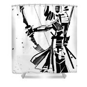 The Arrow Whisperer Shower Curtain