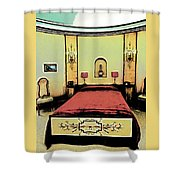 The Art Deco Bedroom Shower Curtain