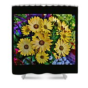 The Art In Flowers 5 Shower Curtain