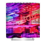 The Art Of Bowling Shower Curtain