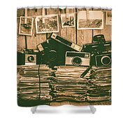 The Art Of Film Photography Shower Curtain