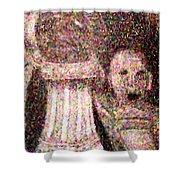 The Art Teacher Shower Curtain