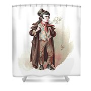 The Artful Dodger Shower Curtain