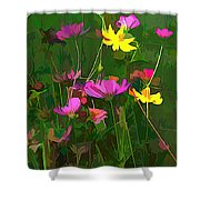 The Artistic Side Of Nature Shower Curtain