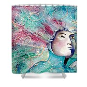 The Artist's Mind  Shower Curtain