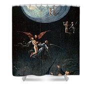 The Ascent Of The Blessed Hieronymus Bosch Shower Curtain