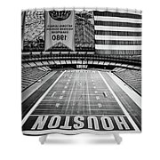 The Astrodome Shower Curtain