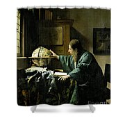 The Astronomer Shower Curtain