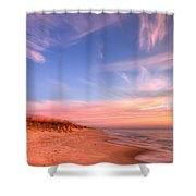 The Atlantic Coast At Sunrise Shower Curtain