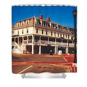 The Atlantic House Inn - York Beach, Maine Shower Curtain